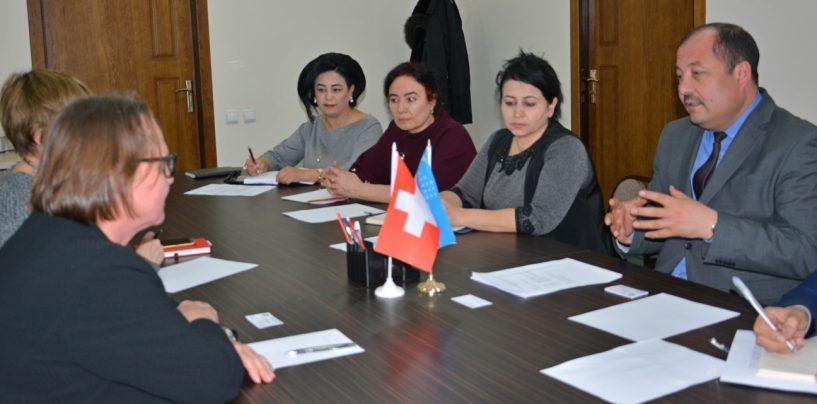 SWISS HIGHER EDUCATIONAL INSTITUTIONS WILL COOPERATE WITH UNIVERSITIES OF UZBEKISTAN
