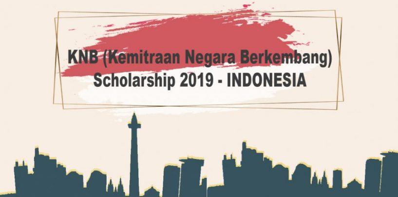 KNB (KEMITRAAN NEGARA BERKEMBANG) SCHOLARSHIP 2019 – INDONESIA