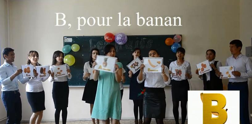 2-dars: La chanson de l'alphabet
