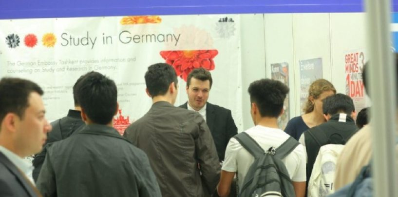 OVER 800 YOUNG PEOPLE FROM UZBEKISTAN ARE STUDYING IN GERMANY