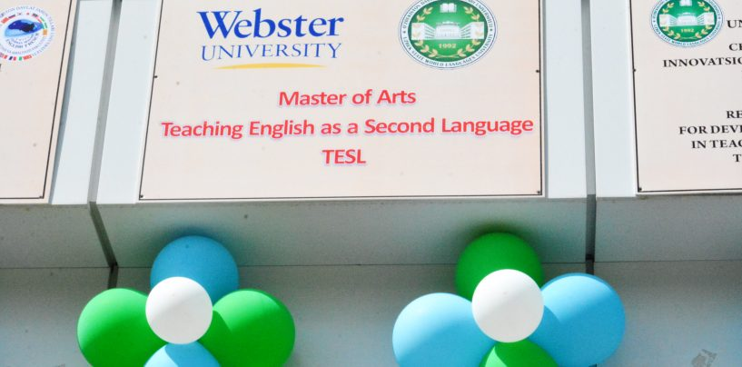 ADMISSION TO 1-YEAR MASTER'S PROGRAM OF WEBSTER UNIVERSITY STARTED