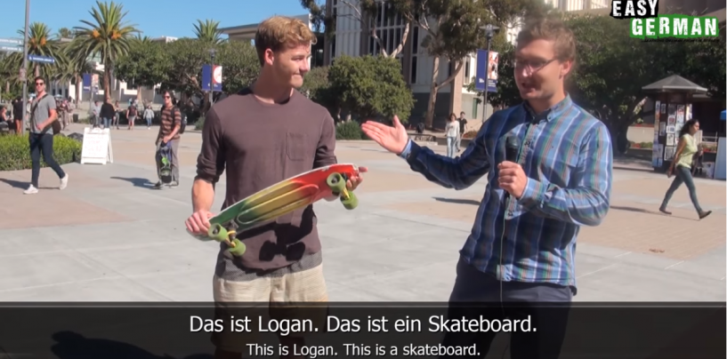 Skateboarding | Super Easy German 06
