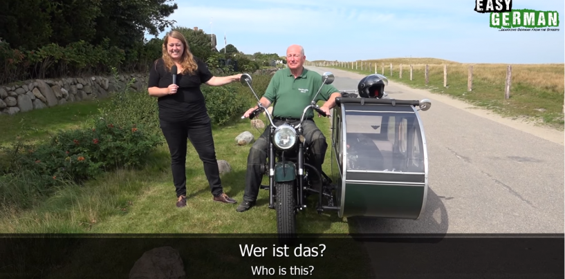 The Motorbike | Super Easy German 05