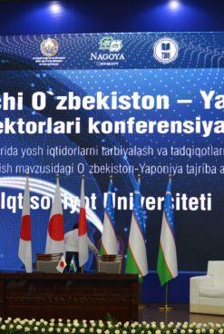 III CONFERENCE OF RECTORS OF UZBEK AND JAPAN UNIVERSITIES STARTED
