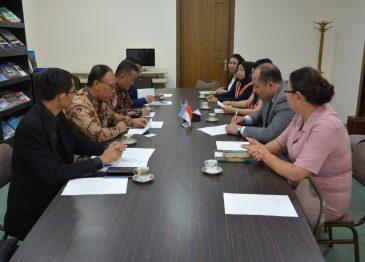 REPRESENTATIVES OF THE ISLAMIC MALANGAN UNIVERSITY OF INDONESIA in UzSWLU