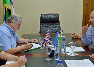 BRITISH INDEPENDENT EXPERT RICHARD WEST IN UZSWLU