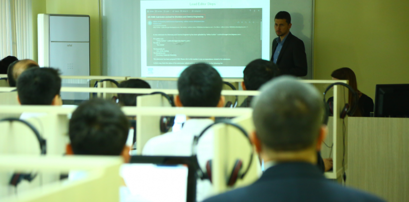 TRAINING WITH PARTICIPATION OF FOREIGN EXPERTS WAS HELD FOR REPRESENTATIVES OF THE HEI's
