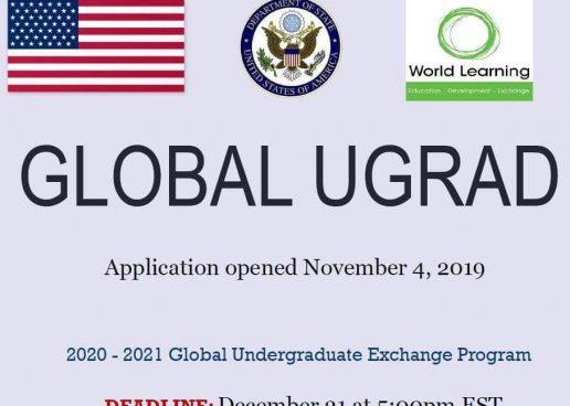 GLOBAL UNDERGRADUATE EXCHANGE PROGRAM
