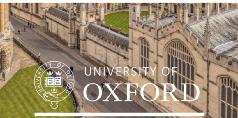 THE UNIVERSITY OF OXFORD ANNOUNCES A FULLY-FUNDED SCHOLARSHIPS