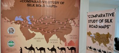 INTERNATIONAL SCIENTIFIC WORKSHOP: «COMPARATIVE STUDY OF SILK ROAD MAPS»  STARTS AT UzSWLU