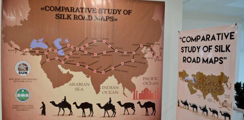 INTERNATIONAL SCIENTIFIC WORKSHOP: «COMPARATIVE STUDY OF SILK ROAD MAPS»  STARTS AT UzSWLU