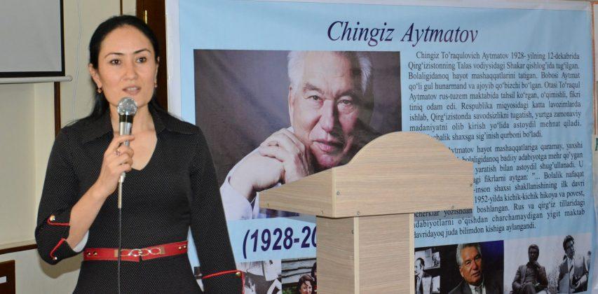 CHINGIZ AITMATOV's LITERARY LIFE