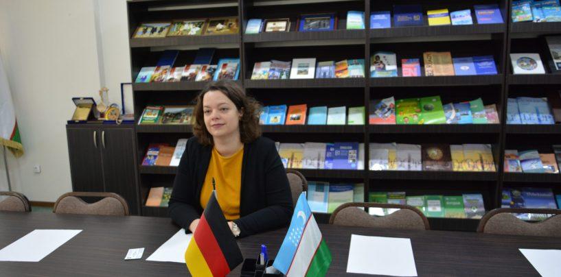 GERMANIYANING MAYNS UNIVERSITETI BILAN HAMKORLIK ALOQALARI RIVOJLANMOQDA