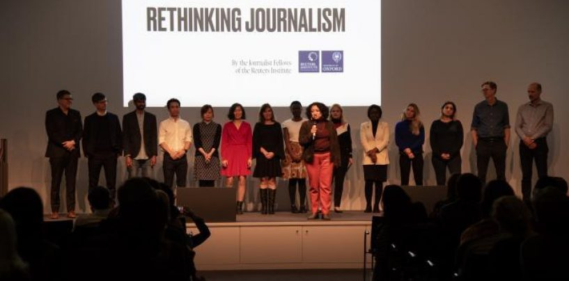 THE JOURNALIST FELLOWSHIP PROGRAMME AT THE REUTERS INSTITUTE