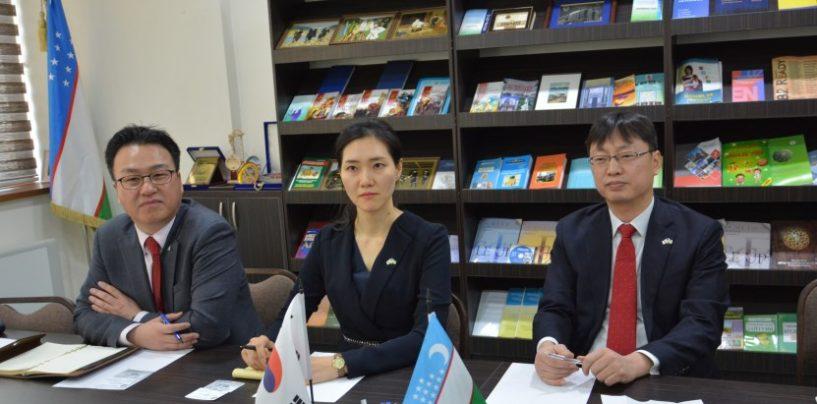 REPRESENTATIVES OF THE EMBASSY OF KOREA IN UZBEKISTAN VISITED UzSWLU