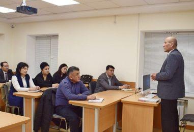 TRAINING COURSES ON TASHKENT STATE UNIVERSITY OF UZBEK LANGUAGE WERE OPENED FOR OFFICIALS