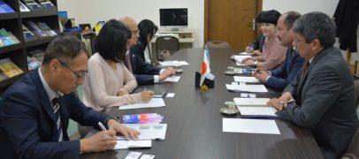 AMBASSADOR EXTRAORDINARY AND PLENIPOTENTIARY OF JAPAN TO UZBEKISTAN IS ON WORKING VISITS TO UZSWLU