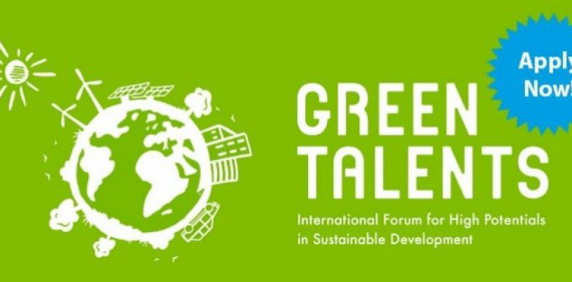 «GREEN TALENTS» GRANTLAR TANLOVI E'LON QILINDI