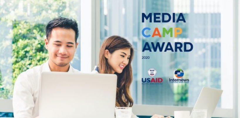 """""""MEDIACAMP AWARD — 2020"""" TANLOVI BOSHLANDI"""