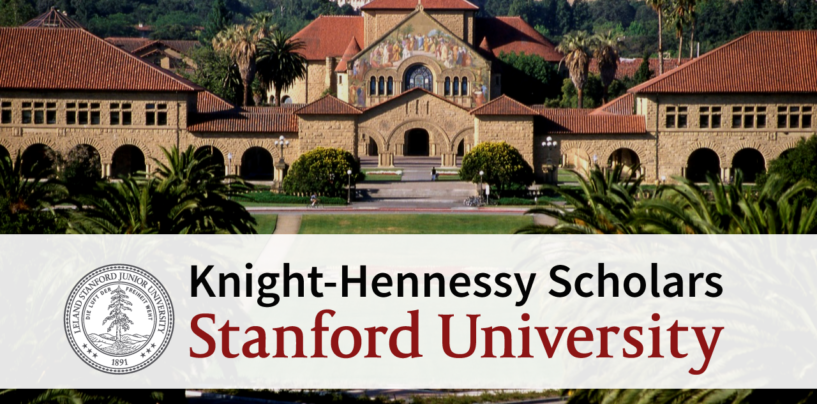 "STENFORD UNIVERSITETIDAN ""KNIGHT-HENNESSY SCHOLARS"" DASTURI"