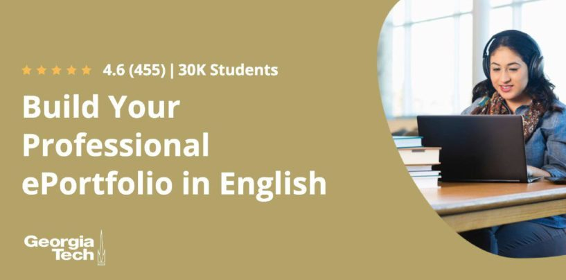 BUILD YOUR PROFESSIONAL ePORTFOLIO IN ENGLISH
