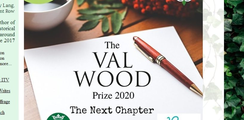 THE VAL WOOD PRIZE FOR CREATIVE WRITING 2020: THE NEXT CHAPTER