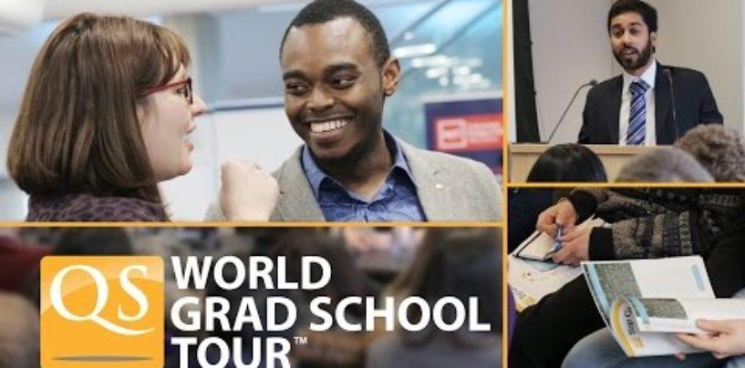 CHET ELDA TA'LIM OLISHNING ONLAYN KO'RGAZMASI: QS VIRTUAL WORLD GRAD SCHOOL TOUR 2020