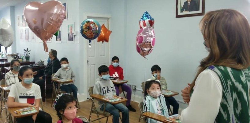UZBEK SCHOOL OPENED IN NEW YORK