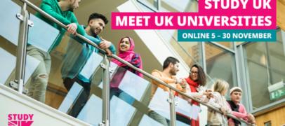 UNIVERSITETLAR KO'RGAZMASI: VIRTUAL STUDY UK