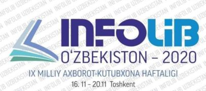 """""""INFOLIB UZBEKISTAN-2020"""" IX MILLIY AXBOROT-KUTUBXONA HAFTALIGI"""