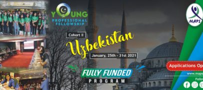 YOUNG PROFESSIONAL FELLOWSHIP, UZBEKISTAN 2021