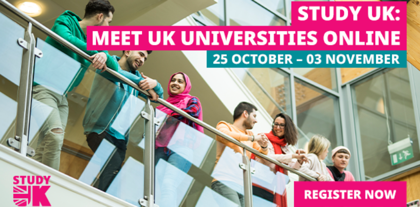 JOIN STUDY UK: MEET UK UNIVERSITIES ONLINE FAIR