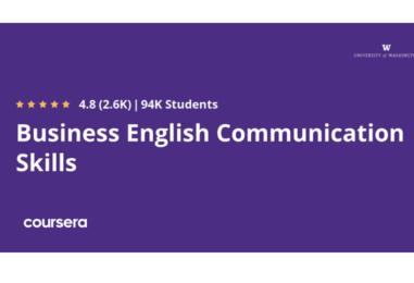 """VASHINGTON UNIVERSITETIDAN """"BUSINESS ENGLISH COMMUNICATION SKILLS"""" ONLAYN KURSI"""